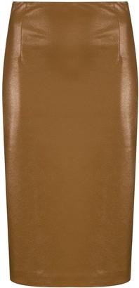 GAUGE81 Umea high-waist pencil skirt