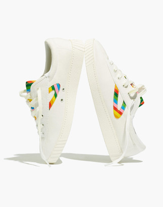 Madewell Tretorn Nylite Plus Sneakers in Rainbow Canvas