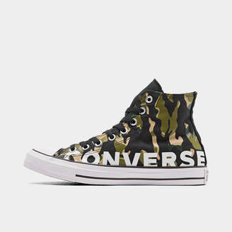 Converse Men's Chuck Taylor All Star Flames High Top Casual Shoes