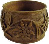 One Kings Lane Vintage Black Forest Hand-Carved Napkin Ring