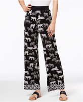 INC International Concepts Tiger-Print Palazzo Pants, Only at Macy's