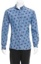 Gitman Brothers I Love New York Denim Shirt
