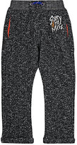 Sorry 4 the Mess Heathered Jersey Drop-Rise Pants-BLACK