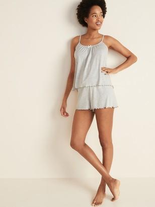 Old Navy Jersey-Knit Cami & Boxer Shorts Pajama Set for Women