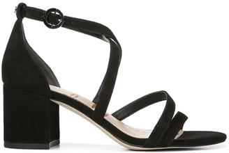 Sam Edelman Stacie Strappy Suede Block Heel Sandals