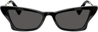 Valentino Eyewear Garavani geometric slim cat-eye sunglasses