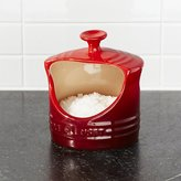 Crate & Barrel Le Creuset ® Cerise Red Salt Crock