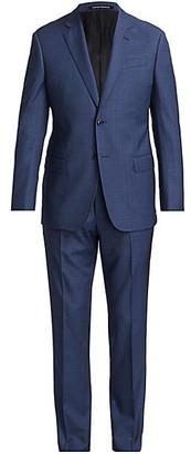 Emporio Armani Slim-Fit Virgin Wool Suit