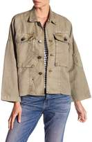 Current/Elliott Cropped Militia Jacket