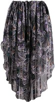 Etro paisley-print pull-on skirt