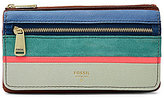 Fossil Preston Patchwork Flap Wallet
