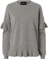 Designers Remix Grace Ruffle Sweatshirt