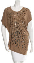 Roberto Cavalli Sequin Embellished Top