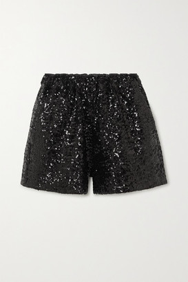 In The Mood For Love Rosana Sequined Tulle Shorts