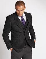 Marks and Spencer Single Breasted Barleycorn Jacket
