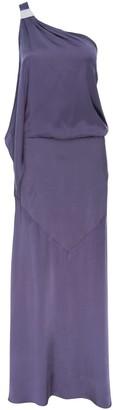 Mila Louise One Shoulder Silk Dress