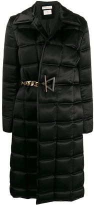 Bottega Veneta Single-Breasted Padded Coat