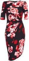 Yumi Floral Gathered Dress