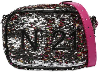 N°21 Sequined Shoulder Bag