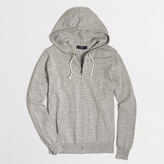 J.Crew Factory Full-zip textured cotton hoodie