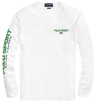 Polo Ralph Lauren Jersey-Printed Long-Sleeve Shirt
