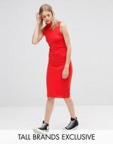 Noisy May Tall Knitted Ribbed Bodycon Skirt