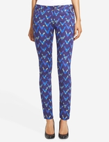 The Limited 678 Printed Jacquard Skinny Jeans
