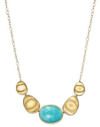 """Marco Bicego 18K Yellow Gold Turquoise Necklace, 16.5"""""""