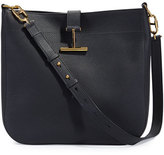 Tom Ford Grained Leather T-Clasp Crossbody Bag