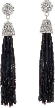 Susan Graver Beaded Tassel Earrings