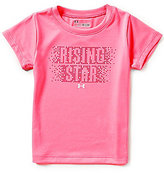 Under Armour Little Girls 2T-6X Rising Star Short-Sleeve Tee