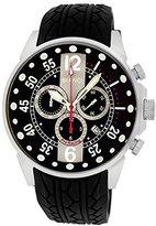 Roberto Bianci Men's 7098mrub-ss_blkgr Pro Racing Analog Display Analog Quartz Black Watch
