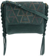 Isabel Marant Asli embroidered shoulder bag