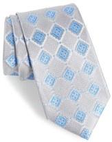 Nordstrom France Geometric Silk Tie