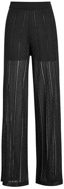 M Missoni Wide Leg Knit Pants