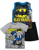 Warner Bros. Batman Shirt, Tank Top and Shorts Set - Toddler/ Little Boys