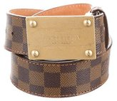 Louis Vuitton Inventeur Damier Belt