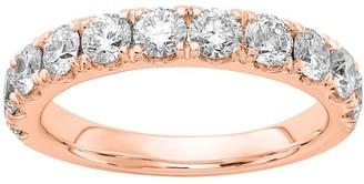 Fire Light Lab Grown Diamond 14K Wedding Band, 1.50 cttw