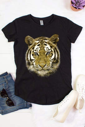 Color Bear Tiger Face Foil Tee