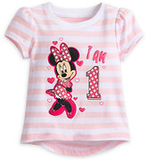 Disney Minnie Mouse ''I Am 1'' Birthday Tee for Baby