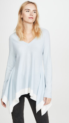 TSE Draped Cashmere Sweater