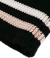 Lanvin striped cuff gloves