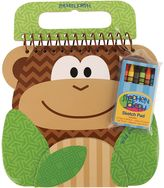 Stephen Joseph Monkey Shaped Sketch Pad