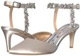 Badgley Mischka Esmeralda (Morning Fog Satin) Women's Shoes