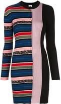 M Missoni Stripe Print Jumper Dress