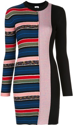 M Missoni Stripe Print Jumper Dress