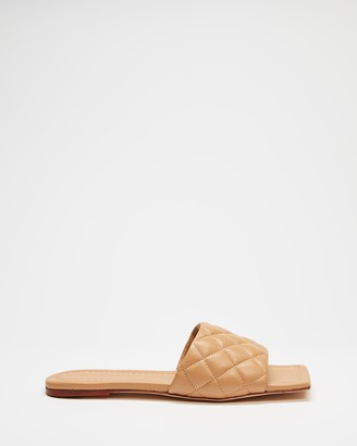 Tony Bianco Women's Brown Sandals - Geena - Size 5 at The Iconic