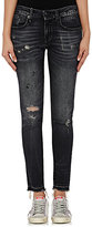 R 13 Women's Alison Skinny Distressed Jeans