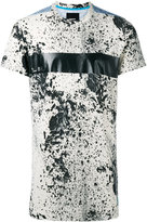 Diesel splatter print T-shirt - men - Polyester/Spandex/Elastane/Rayon - M