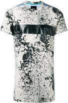 Diesel splatter print T-shirt - men - Polyester/Spandex/Elastane/Rayon - XL